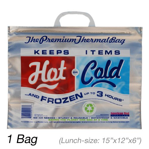 Insulated Bag | Thermal Bag | Hot Cold Bag (1 Lunch Bag) - 1