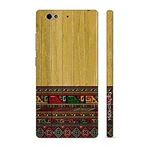 Enthopia Designer Hardshell Case Aztec from Greece Back Cover for Gionee S6