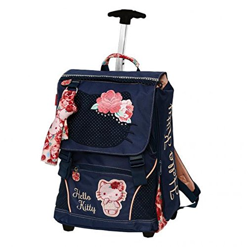 HELLO KITTY TEEN PASSION ROSES - Zaino Trolley Deluxe