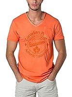 CANADIAN PEAK Camiseta Manga Corta Jalorie (Naranja)