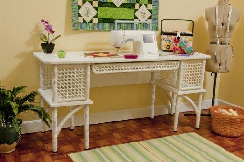 Arrow Florie Wicker Sewing Table