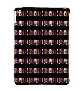 EPICCASE purple blocks Mobile Back Case Cover For Apple Ipad Air (Designer Case)