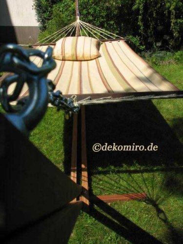 Hamaca Bandos 410cm madera de eucalipto 2131