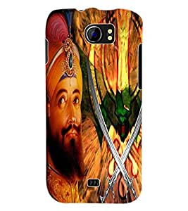 ColourCraft Lord Guru Gobind Singh Back Case Cover for MICROMAX CANVAS 2 A110