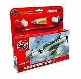 Airfix A55106 Messerschmitt Bf109E 1:72 Scale Model Small Starter Set
