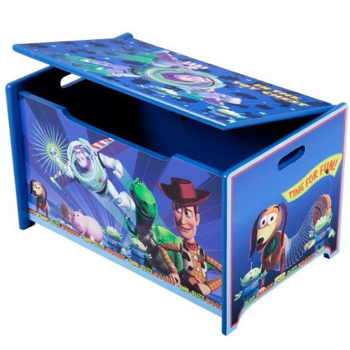 Children S Bedroom Furniture Toy Story Wooden Toy Box