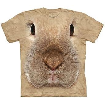 Bunny Face - Häschen/Hase - Kinder T-Shirt in M