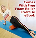 Trigger Point Massage Foam Roller, NOW WITH FREE EXERCISE eBOOK! Foam Roller, Muscle Roller, Trigger Point Foam Roller, Foam Rollers Physical Therapy, Back Foam Roller. Have A Sore Back, Neck And/Or IT Bands? This Muscle Foam Roller Is Excellent As A Back