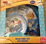 Jake and the Neverland Pirates Mealtime 3 Piece Set Cup, Bowl and Plate BPA Free