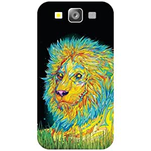 Samsung Galaxy S3 Phone Cover - Colored Art Matte Finish Phone Cover