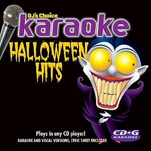 Halloween Hits Karaoke-cd