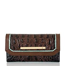 Soft Checkbook Wallet<br>Cocoa Belden