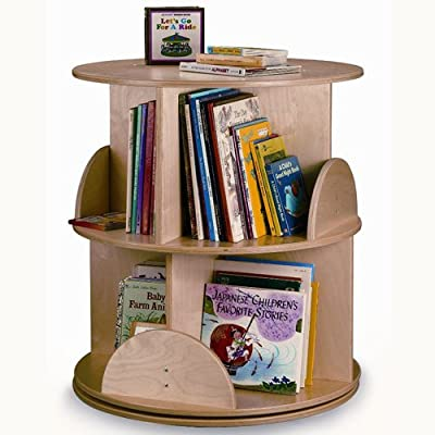 Whitney Bros - Two Level Carousel Book Stand