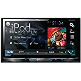 "PIONEER AVH-X4700BS 7"" Double-DIN DVD Receiver with Motorized Display, Bluetooth(R), Siri(R) Eyes Free, SiriusXM(R) Ready, Android(TM) Music Support & Pandora(R) Internet Radio"