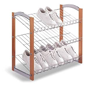 Organize It All Concord 3-Tier Shoe-Shelf 17035
