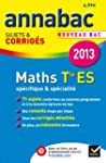 Annales Annabac 2013 Maths Tle ES Sp�...
