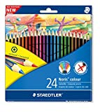 Image of Staedtler Noris Colour 185 C24 Colouring Pencil - Assorted Colours