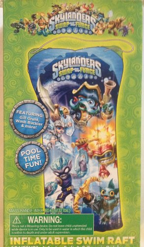 Skylanders Swap-force Inflatable Raft