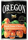 Oregon Fruit Products, Canned Fruits, 15oz Can (Pack of 3) (Choose Fruit Below) (Royal Anne Pitted Cherries in Light Syrup)