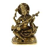 "Sarasvati Statue Hindu-G�ttin Messingvon ""ShalinIndia"""