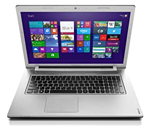 "Lenovo Ideapad Z710 59404073 PC portable non tactile 17.3"" Noir métallique (Intel Core i5, 4 Go de RAM, Disque dur 1 To + 8 Go de SSD, Nvidia Geforce GT740M 2G, Windows 8.1)"