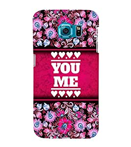 You Love Me Cute Fashion 3D Hard Polycarbonate Designer Back Case Cover for Samsung Galaxy S6 G920I :: Samsung Galaxy G9200 G9208 G9208/SS G9209 G920A G920F G920FD G920S G920T