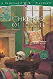 Threads of Deceit (Vineyard Quilt Mysteries)
