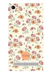 Noise Vintage Floral Panel Printed Cover for Intex Aqua Power Plus