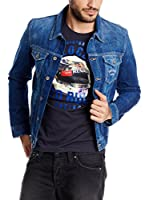 Pepe Jeans London Camiseta Manga Corta V-Driver (Azul Oscuro)