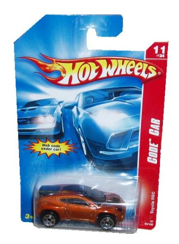 Hot Wheels Code Car 1:64th Scale TOYOTA RSC 11 of 24 07 95/180 - 1