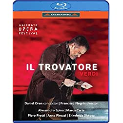Giuseppe Verdi: Il Trovatore [Blu-ray]