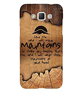 Love Quote 3D Hard Polycarbonate Designer Back Case Cover for Samsung Galaxy Grand Max G720