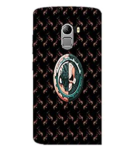 PrintDhaba Skull D-4731 Back Case Cover for LENOVO K4 NOTE A7010a48 (Multi-Coloured)