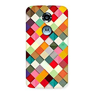 Color Ribbons Back Case Cover for Moto X 2nd Gen