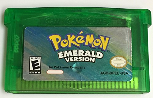 Pokemon Emerald (Third Party Release) GBA + Cartridge Case (Gameboy Advance Pokemon Ruby compare prices)