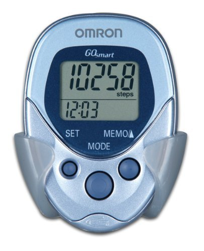 Omron HJ-112 Digital Pocket Pedometer (Pack of 2)
