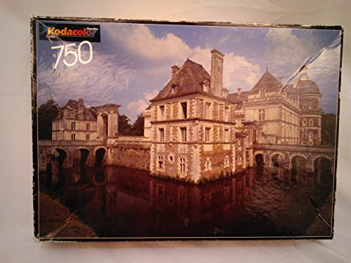 Kodacolor Castles 750 Piece Puzzle Serrant, France Made in USA