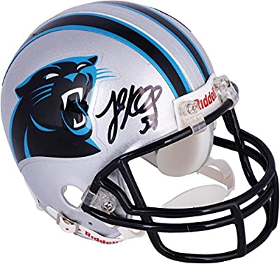 Luke Kuechly Carolina Panthers Autographed Riddell Mini Helmet - Fanatics Authentic Certified - Autographed NFL Mini Helmets