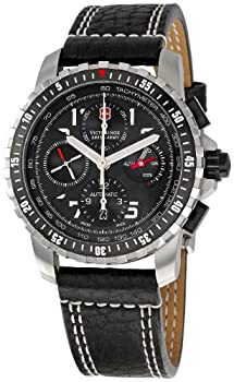 Victorinox Swiss Army Men's 241382 Alpnach Black Dial Watch by Victorinox Swiss Army