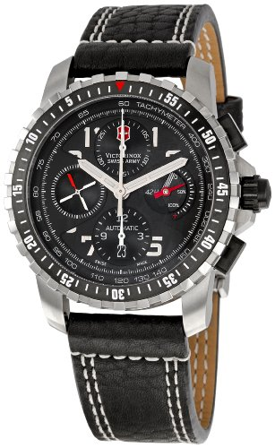 Victorinox Swiss Army Men&#8217;s 241382 Alpnach Black Dial Watch