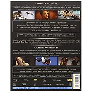 Largo Winch 1 + Largo Winch 2 - Coffret 2 BluRay [Blu-ray]