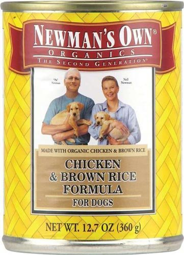 Newman's Own Formula For Dogs Chicken and Brown Rice -- 12.7