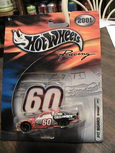 Hot Wheels 2001 Racing PIT BOARD #60 Grainger Collector Car