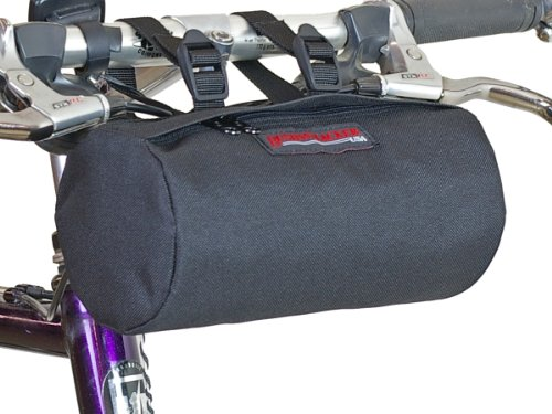 Bushwhacker Waco Black - Bike Handlebar and Under Seat Bag