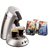PHILIPS ポッド式コーヒーメーカー Senseo(センセオ) HD7812/50 シルバー+ Amazon.co.jp 特別セット[セレクションシリーズ 新味3袋計30ポッド]付