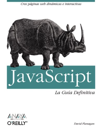 JavaScript. La Guía Definitiva (Anaya Multimedia/O¿Reilly)
