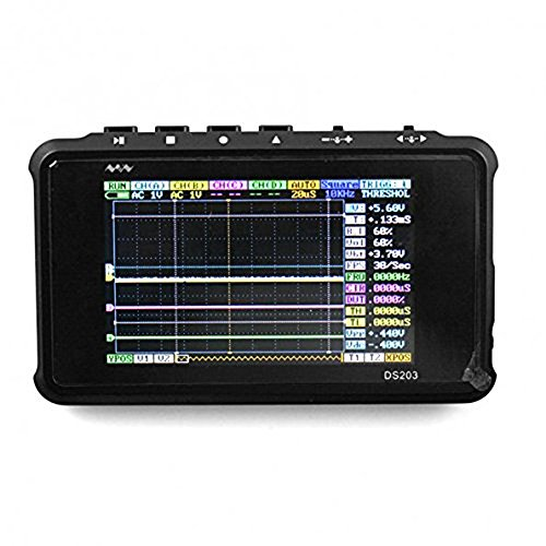 SainSmart Minidso DSO203 Pocket-Sized PC-based 4-CH 72MHz Handheld Storage Digital Oscilloscope (Storage Be Ch compare prices)