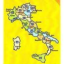 Michelin Local Road Map 366: Sardegna (Sardinia, Italy) scale 1/200,000 (Multilingual Edition)