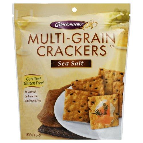 Crunchmaster Crackers Multi-Grain Sea Salt (Pack of 12) (Multigrain Sea Salt compare prices)