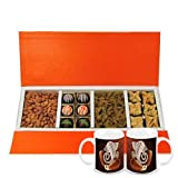 Chocholik Belgium Chocolates - Rich Treat Of Almonds, Raisin,truffles And Baklava Gift Box With Diwali Special... - B015RB5ZN8